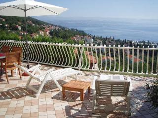 Lovely apartment with wonderful sea views - Kvarner and Primorje vacation rentals