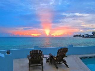 LUXURY Home 130ft of Oceanfront with PRIVATE Pool - Nassau vacation rentals