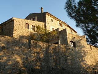 Provencal hilltop village, 'Atelier' for 2 - Rochessauve vacation rentals