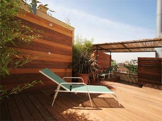 Ramblas romantic studio w/ roof terrace - Barcelona vacation rentals