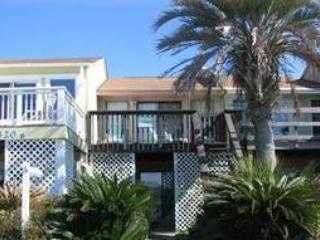 Front of townhouse overlooking beach - 2 Bedroom with Gorgeous view and Pet Friendly - Panama City Beach - rentals