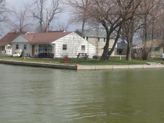Tecumseh Island Hideaway-210'waterfront-Pontoon package available !!! booking fast! - Lakeview vacation rentals