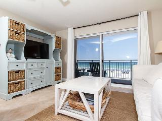 PI 212: Beautiful view from private BEACH front balcony! Free Beach Service - Fort Walton Beach vacation rentals