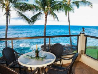 Poipu Shores 303A OceanFRONT Elegance, 2BR/2BA - Poipu vacation rentals