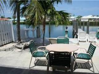 Back yard - Manatee Way, desirable 7th Street!  # 80 - Key Colony Beach - rentals