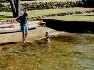 our private sandy beach - Inks Lake Vacation Rental House - Burkburnett - rentals