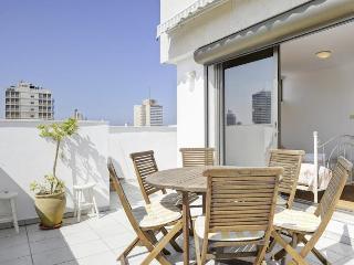 gordon beach 3 Bd PENTHOUSE/ Duplex WI - Tel Aviv vacation rentals