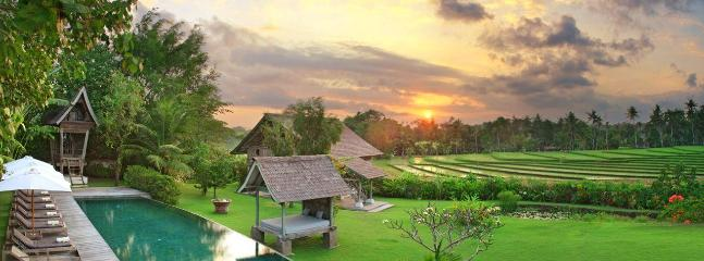 Villa Artis Sunset panorama view on the surrounding ricefields - Artis Villa - Seminyak - rentals