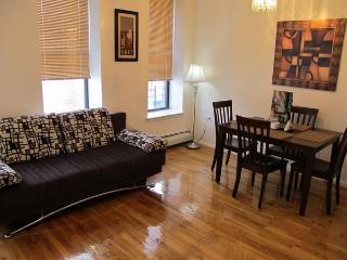 Sunny, spacious 1 bed walk-thru apartment - New York City vacation rentals