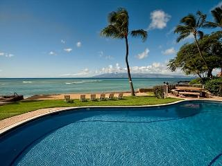 Oceanfront Condo on Small Property. Quiet - Lahaina vacation rentals