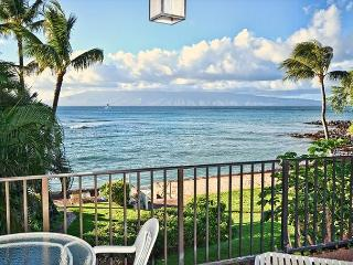 One Bedroom Vaulted Ceilings Oceanfront!! - Lahaina vacation rentals