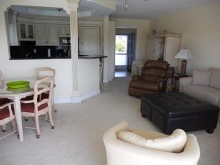 Living Area - CHIC and modern Condo in Waterfront Complex - Marco Island - rentals