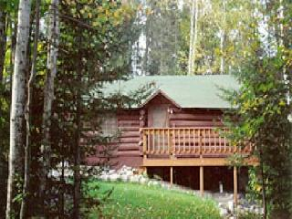"Ranger Log Cabin  ""The Honeymoon Cabin"" - Babbitt vacation rentals"