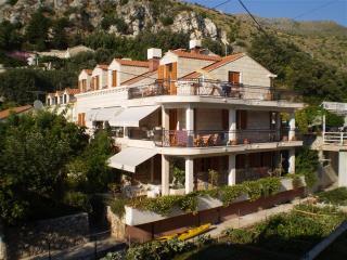 Apartment Green on the beach front villa Zaton bay - Southern Dalmatia vacation rentals