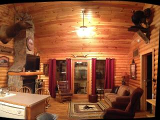 Log Cabin,Wooded,Secluded,2 Jacuzzi,WiFi 1mile SDC - Branson vacation rentals