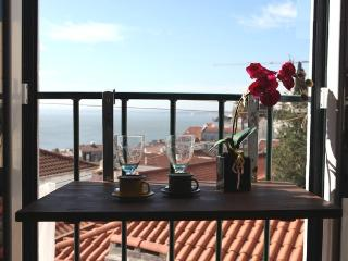 SAO VICENTE II, panorama view from french balcony - Charneca da Caparica vacation rentals