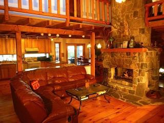 Gorgeous Pocono Log Cabin on 10 Acres--Hot Tub!! - Matamoras vacation rentals