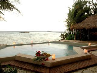 MAYA - ZACI5 modern example of simple luxury. - Puerto Aventuras vacation rentals