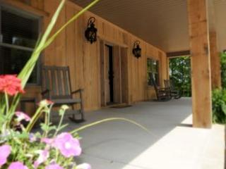 Rock on the Front Porch! - Brand New Luxury Cabin-- Rent as 2, 4 or 6 bedroom - Crossville - rentals