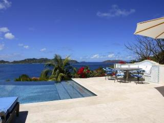 Luxury 6 bedroom Pointe Milou villa. Broad sunset views of Lorient and St. Jean! - Pointe Milou vacation rentals