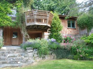 Sleeps 8 ocean view hot tub garden accessible dog - Pender Island vacation rentals