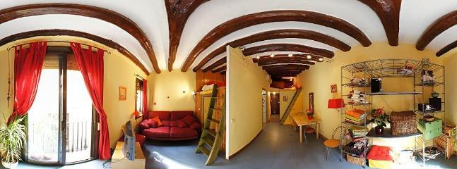 Jo`s apartment overview - Sunny Terrace in El Born - Barcelona - rentals