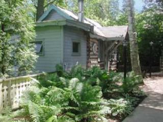 Outside of Log Cabin - Trollhaugen Log Cabin - Ephraim - rentals