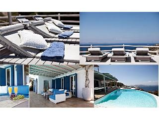 Mykonos ,Breathtaking view, 6-bedroom Luxury Villa - Agios Ioannis vacation rentals