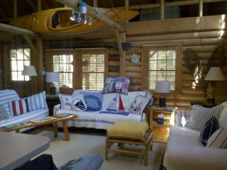Cedar Log Cabin in Boothbay Harbor, Maine - Harpswell vacation rentals