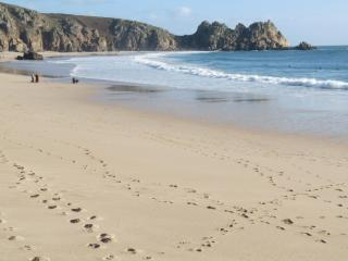Wolf Rock Holiday Apartment in Porthcurno Cornwall - Cornwall vacation rentals