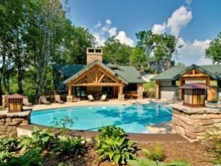 Outdoor Pool - Evergreens 1022 -  level entry, access to pools - Boone - rentals