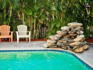 Pool - Blue Heron Beach House - Anna Maria - rentals