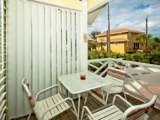 Balcony - Pisces Playground-205 73rd St - Holmes Beach - rentals
