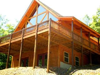 COYOTE MOON COZY LOG CABIN-BEAUTIFUL MTN VIEWS - Hayesville vacation rentals