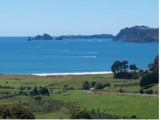 Two bedroom hilltop apartment in Whitianga, NZ - Hahei vacation rentals