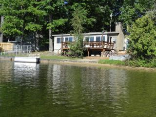 3 bedroom cabin on Spider Lake in Traverse City MI - Lake Ann vacation rentals