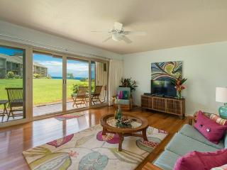 10% off available summer dates! Beautiful Ocean Views from Pali Ke Kua #141!! - Princeville vacation rentals