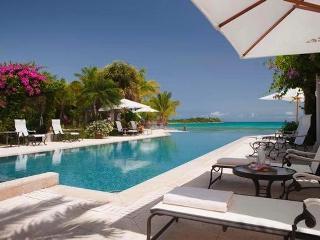 Luxury 5 bedroom Jumby Bay Resort villa. Overlooking the beautiful white coral sands of Pasture Bay! - Anguilla vacation rentals