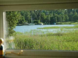 25 meters from Stockholm archipelago, boat + canoe - Stockholm County vacation rentals