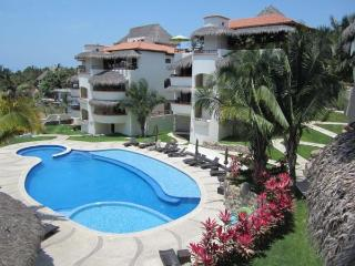 Super bright 2BR apt--beach 4 mins--wow of a pool - Sayulita vacation rentals
