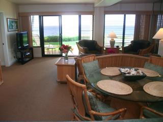 Poipu Shores 104A, Deluxe Oceanfront, 2BR Condo - Koloa-Poipu vacation rentals