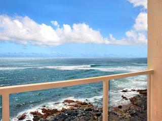 Kuhio Shores 412 Oceanfront Condo, Poipu, Kauai - Poipu vacation rentals