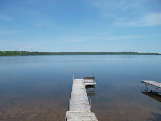 Great 2 Bed right on Big Portage Lake- Sandy Beach - Pequot Lakes vacation rentals