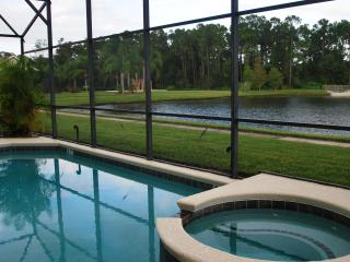 Stunning Lake View 7 Bedroom Home with a Hot Tub - Kissimmee vacation rentals