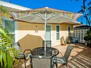 Private Patio - Sea Pirate Unit 2- 3303 Gulf - Holmes Beach - rentals