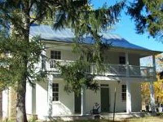 Historic Demory- Wortman Home on 900 acre property - Berryville vacation rentals