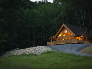 MeadowView Cabin new log home, near Lexington, VA. - Natural Bridge vacation rentals