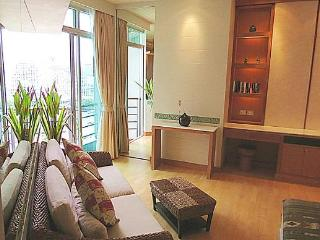 Exquisite studio apartment, scenic river view,WiFi - Bangkok vacation rentals