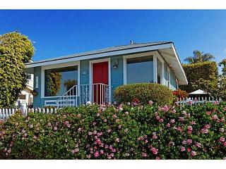Rose Cottage with Ocean View - La Jolla vacation rentals