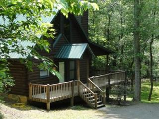 A Blue Ridge Beauty combines cozy and comfort with creekside and wooded forest perfect cabin retreat - Blue Ridge vacation rentals